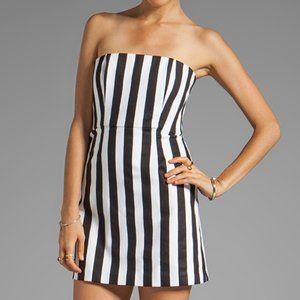 NWT Alice + Olivia Nyla Striped Mini Dress 2